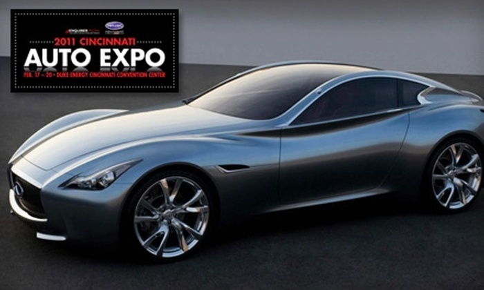 Hart Productions - Cincinnati: $10 for Two Tickets to Cincinnati Auto Expo
