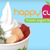 $4 for Frozen Yogurt at Happy Cup