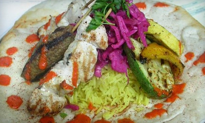 Moti's Grill  - Rockville: $10 for $20 Worth of Middle Eastern and Mediterranean Fare at Moti's Grill in Rockville