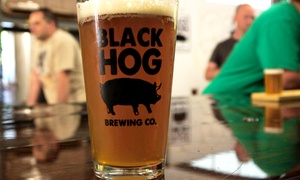 30% Off at Black Hog Brewing at Black Hog Brewing, plus 6.0% Cash Back from Ebates.