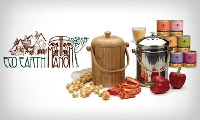Eco Earth Manor: $25 for $50 Worth of Green Products from Eco Earth Manor