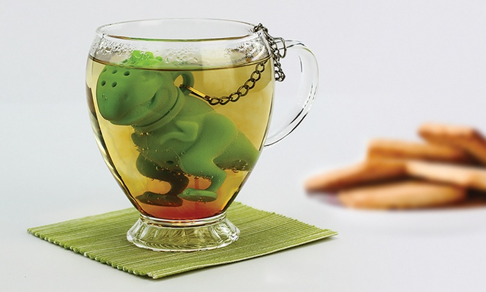T-Rex Tea Infuser (1-, 2-, or 4-Pack)