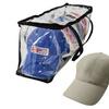Evelots Baseball Cap Storage Bag Zipper Organizer
