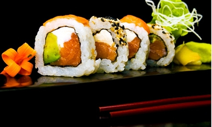 District - Riverdale: $15 for $30 Worth of Japanese Fare and Drinks at District