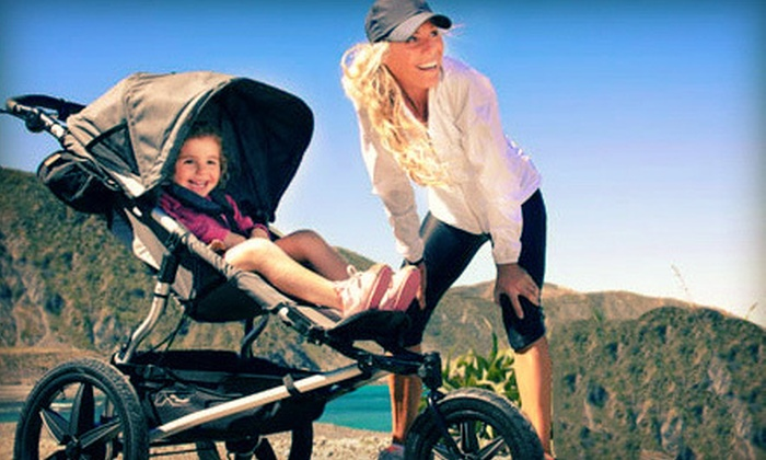 Baby Boot Camp Bay Area - Multiple Locations: Eight Stroller Fitness Classes or One Month of Unlimited Stroller Fitness Classes at Baby Boot Camp (Up to 61% Off)