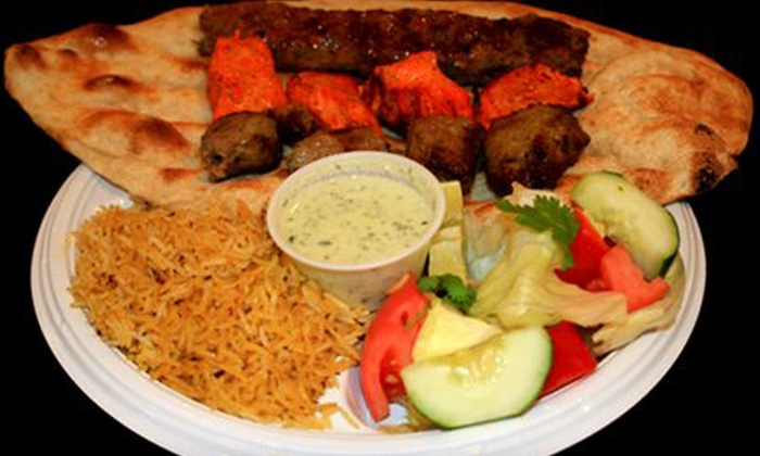 Afghan Kabob House - Washington DC: $5 for $10 Worth of Middle Eastern Fare at Afghan Kabob House in Arlington