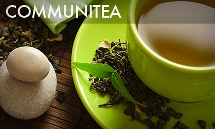 Communitea - Hunters Point: $5 for $10 Worth of Tasty Teas, House-Baked Scones, Savory Paninis, and More at Communitea