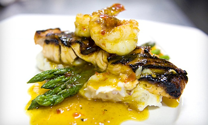 Cape May Stage/Tisha's Fine Dining - Cape May: Dinner and a Show for Two or Four from Cape May Stage in Cape May (Up to 60% Off)