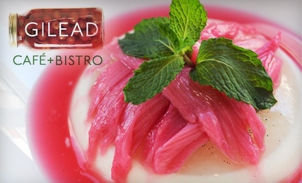$30 Groupon to Gilead Cafe and Bistro - Gilead Cafe and Bistro in Toronto