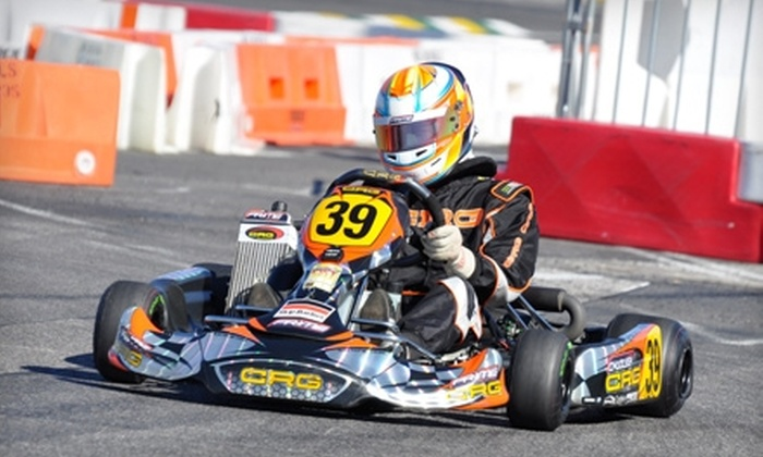 Cameron Motorsports - Hamilton: $20 for 40 Outdoor Go-Kart Laps and a One-Year Rookie Membership to Cameron Motorsports in Hamilton ($179.99 Value)