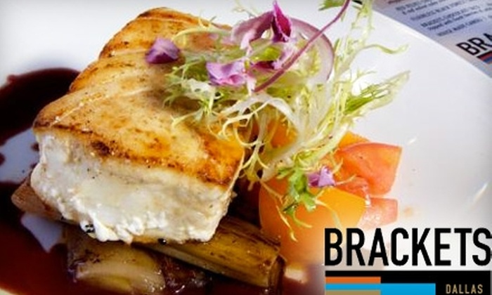 Brackets - Lower Greenville: $10 for $20 of Creative American Fare at Brackets