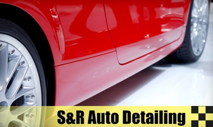 S&R Auto Detailing & Accessories - Germantown: Interior or Exterior Detailing at S&R Auto Detailing & Accessories in Germantown. Choose from Three Vehicle Sizes.