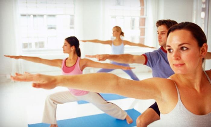 City Yoga St. Augustine - Lighthouse Park: $29 for 10 Classes at City Yoga St. Augustine (Up to $100 Value)