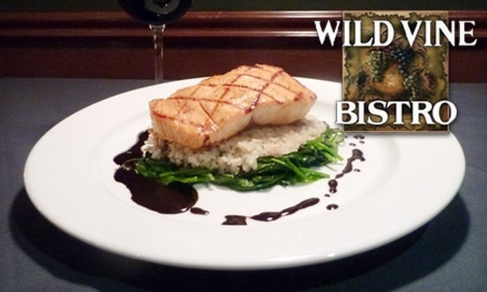 Wild Vine Bistro - North Creek: $20 for $40 Worth of Gourmet Cuisine and Drinks at Wild Vine Bistro in Bothell