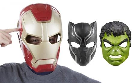Maschere Avengers Hasbro per bambini disponibili in 4 modelli
