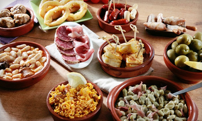 Reds Restaurant - Encino: Tapas and Bottle of Wine or $10 for $20 Worth of Spanish Fare at Reds Restaurant