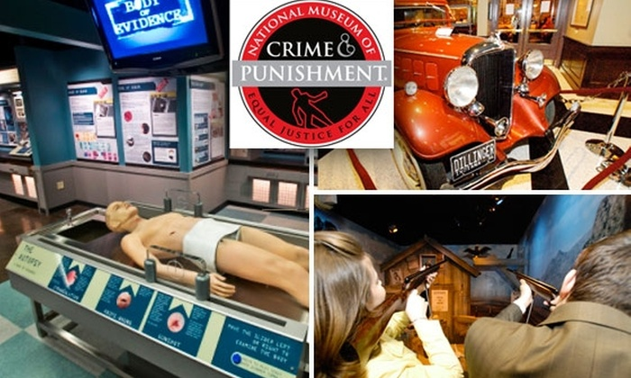National Museum of Crime and Punishment - Downtown - Penn Quarter - Chinatown: $10 Ticket to the National Museum of Crime and Punishment