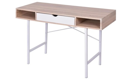 Desk with Two Compartments