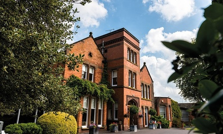 Warwickshire: Double Room for Two with Breakfast and Option for ThreeCourse Dinner at Woodside Hotel