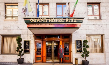 ✈ Rome: 2-4 Nights at 5* Grand Hotel Ritz with Breakfast, Lunch and Wine Voucher, and Flights*