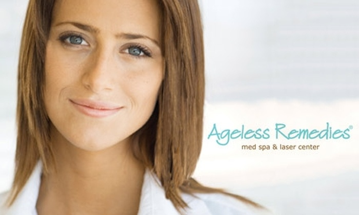 Ageless Remedies - Multiple Locations: $39 for Choice of Three Signature Facials at Ageless Remedies (Up to $125 Value)