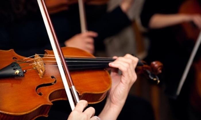 San Luis Obispo Symphony - San Luis Obispo: $25 for a Premium Orchestra Ticket to the San Luis Obispo Symphony's Season-Finale Performance on May 8 ($55 Value)