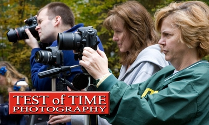 Test of Time Photography - Downtown Nashua: $50 for an Intro to Digital Photography Workshop at Test of Time Photography in Nashua ($120 Value)