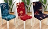 Stretch Floral Print Chair Covers