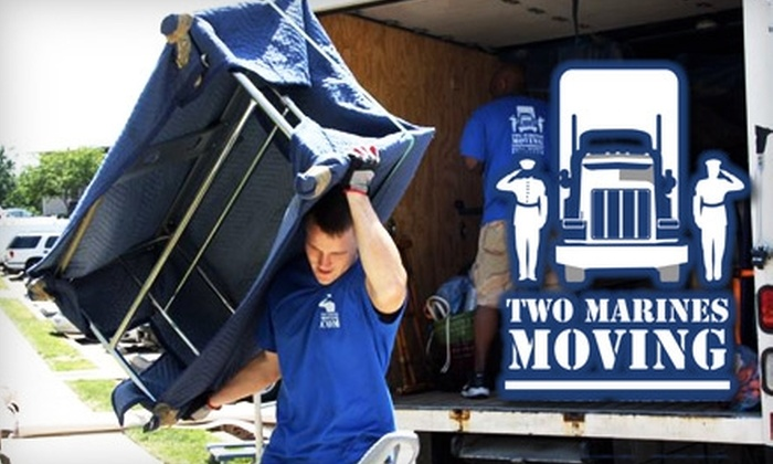 Two Marines Moving - Centreville: $97 for $200 Worth of Moving Services from Two Marines Moving