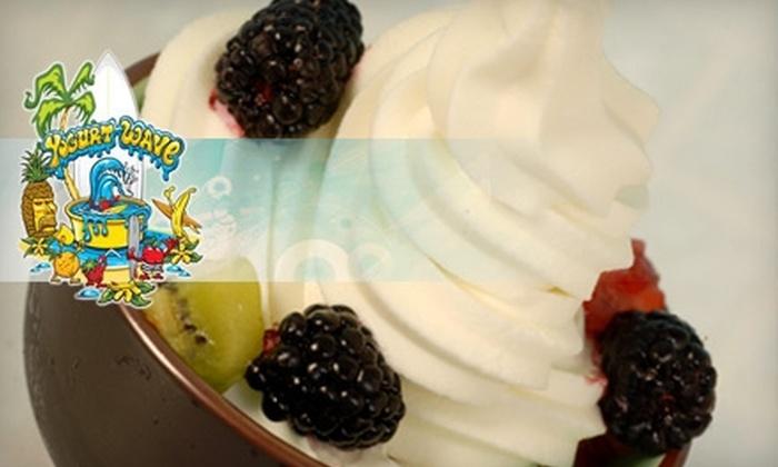 YogurtWave - Santa Ana: $5 for $10 Worth of Frozen Yogurt, Acai Bowls, and More at YogurtWave in Santa Ana