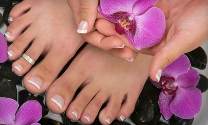 Troutman Day Spa - Troutman: Mani-Pedi or a Spa Facial Package at Troutman Day Spa