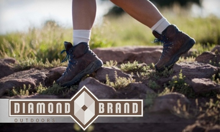 Diamond Brand Outdoors - Limestone: $25 for $50 Worth of Outdoor Apparel and Gear at Diamond Brand Outdoors