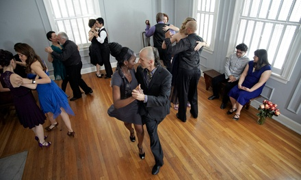 10 Drop-In Argentine Tango Classes or One Month of Unlimited Classes at Oxygen Tango (Up to 75% Off)