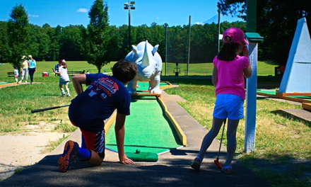 Mini Golf or Driving Range Balls at Patterson Golf and Sports Park (Up to 50% Off). Four Options Available.