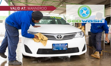 Exterior Clean $15 or Paint Restoration $199 at Geowash Wanneroo Up to $399 Value