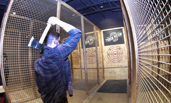 One 90-minute Axe Throwing Session for Two, Four, Six at