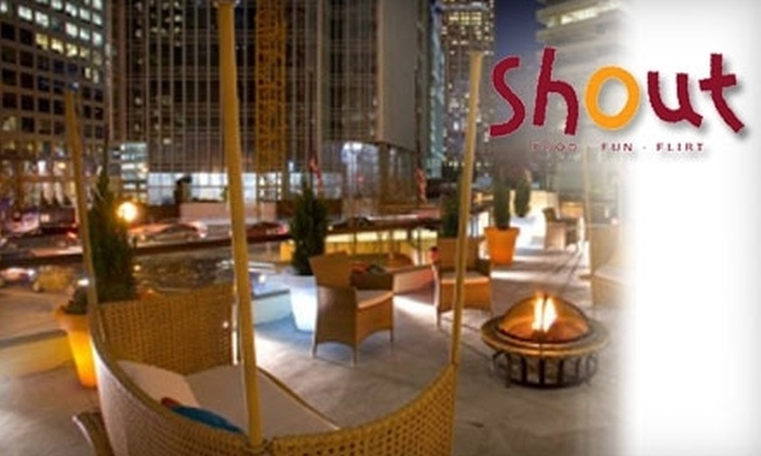 Shout - Multiple Locations: $79 for One Ticket to All-Inclusive New Years Eve Party at Shout