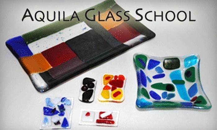 Aquila Glass School - Kenton: $50 for an Intro to Fusing Class at Aquila Glass School ($109 Value)