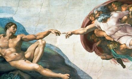 Michelangelo's Sistine Chapel: The Exhibition (July 20–August 16)