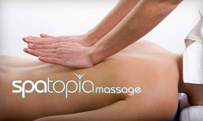 Spatopia Massage - Knoll Ridge: $24 for a 50-Minute Deep Tissue or Swedish Massage at Spatopia Massage (Up to $59 Value)