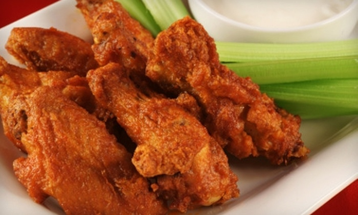 WG's Chicken Wings - Northwest Columbia: $7 for $15 Worth of Wings, Sandwiches, Salads, and More at WG's Chicken Wings