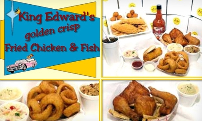 King Edward's Chicken & Fish - Webster Groves: $5 for $10 Worth of Wings, Breasts, Strips, Sandwiches, and More at King Edward's Chicken & Fish