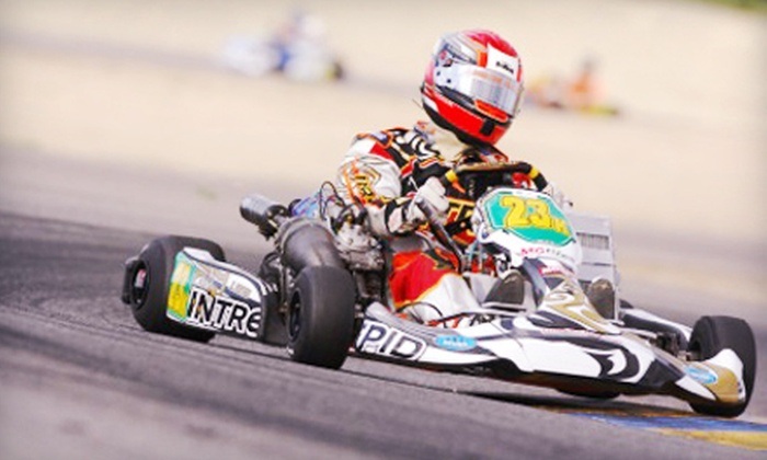 Top Gear Karting - Penticton: 10-Minute High-Performance Kart Race for Two or Four at Top Gear Karting (Up to 57% Off)