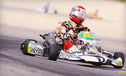 10-Minute High-Performance Kart Race for Two or Four at Top Gear Karting (Up to 57% Off)