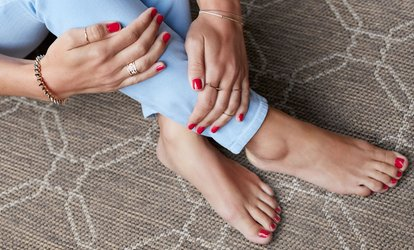 One or Two Express <strong>Manicures</strong> with Zero-Gravity Pedicure at Spa940 (51% Off)