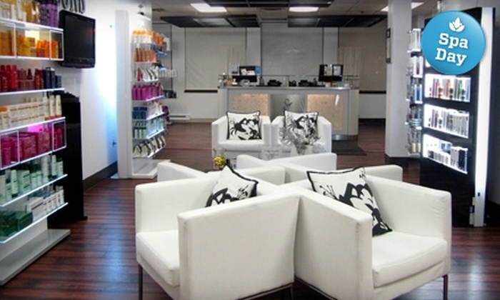 Icons - Downtown: Designer Men's or Women's Haircut or Girls' Night Out Package at Icons