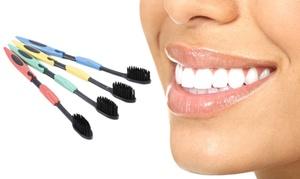 Brosse à dents de charbon de bambou