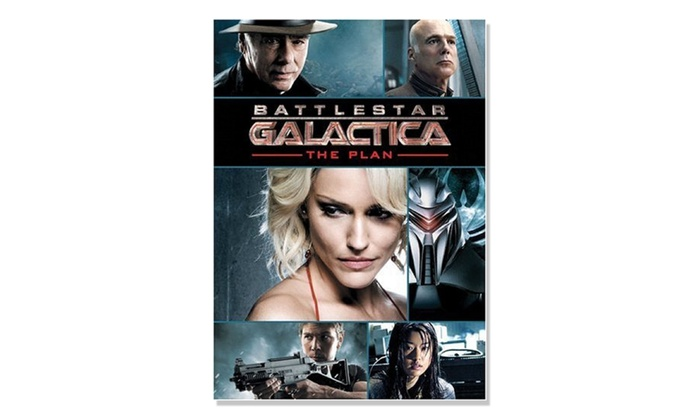 Battlestar Galactica: The Plan on DVD: Battlestar Galactica: The Plan on DVD