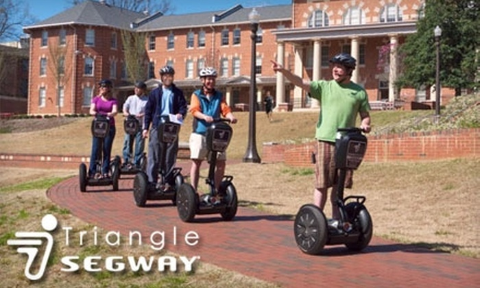 Triangle Segway - Central Raleigh: $19 for a One-Hour Segway Experience Tour from Triangle Segway ($40 Value)
