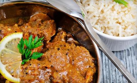 Indian Dinner for 2 - Indigo Indian Bistro in Manhattan